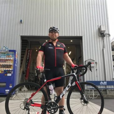Oさん初ロードバイク、FELT VR30納車!