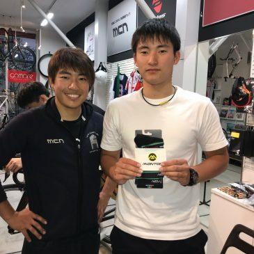 チームスプリントナショナルチャンピオンご来店!!