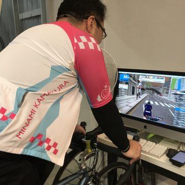 打倒某有名自転車漫画家!松本先生がトレーニングのために連日ご来店中です!!