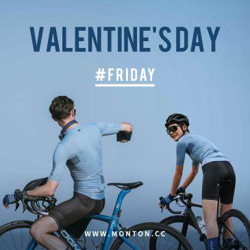 ハッピーバレンタイン♪ペアでもチームでも、お一人でも!最新サイクルジャージ特別価格のご案内
