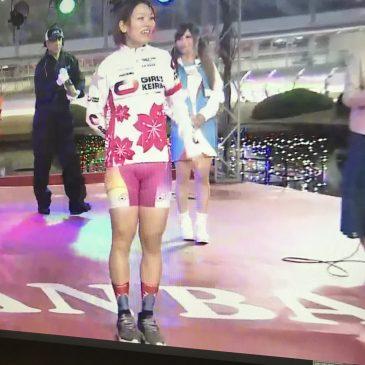 女子競輪界の若手のホープ、佐藤水菜選手も愛用!montonエアロソックス、大好評発売中です!