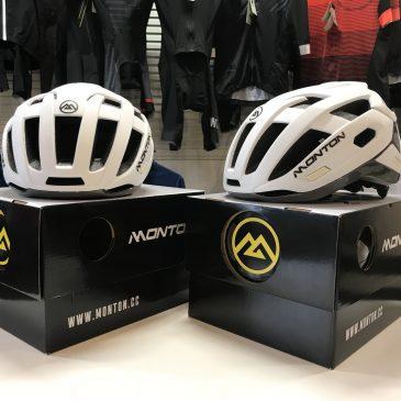 人とは一味違うヘルメット使ってみませんか?montonヘルメット店舗限定販売中!